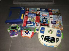 Vetec and Leap Pad and games