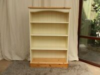 Pine Cream Bookcase