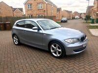 BMW 1 SERIES 116i ES 3 DOOR, MILEAGE 45000, FULL SERVICE HISTORY, MOT 12 MONTHS PARK SENSORS