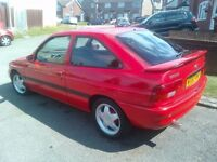 Ford escort 1.8 si 3 door classic gti rs2000