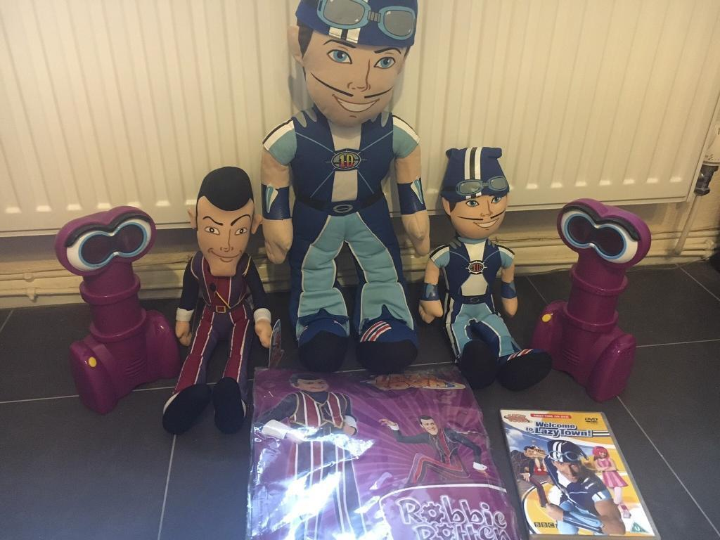 *Lazy Town Items - Open to Offers*