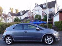 ⭐BARGAIN⭐NEW SHAPE (2006) HONDA Civic SE 1.8 VTEC 5dr 6 Speed Manual FREE DELIVERY/LONG MOT/TAX/FUEL