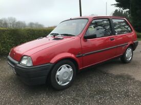 Rover metro 1.1 quest 1993 1 owner from new! Only 23k miles from new! Showroom condition as new!