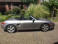 Porsche Boxster S 3.2 for sale, 113,000 miles, in use, great fun.