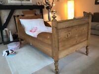 Antique Pine Beds X 2