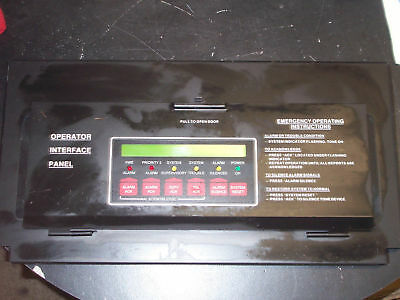 Simplex 4120-8201 Interface Annunciator Display Panel