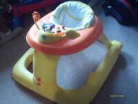CHICO 1-2-3 BABY WALKER in good condition and from a non-smoking home