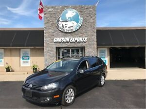 2013 Volkswagen Golf Wagon WOW TDI W/PANOROOF! FINANCING AVAILAB