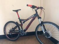 Specialized stumpjumper comp fsr custom built double suspension mountain bike