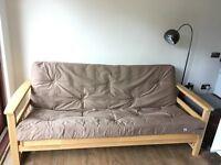 Double Sofa Futon - Wooden