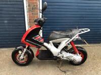 Gilera ice 80cc reg as 50cc moped scooter vespa honda piaggio yamaha gilera peugeot