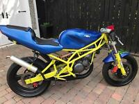 2000 sach etc125- 2 stroke project engine rebuilt only £475