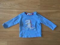 Long sleeve top 9-12m, John Lewis