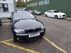 Black BMW Series 1 Automatic /Diesel