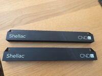 2 CND Shellac Racks