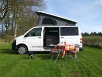 Campervan Hire in Scotland - Modern VW camper vans for hire from £75 per night