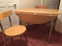 Table with 2 chairs- quick sale