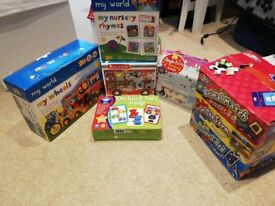 My World, M &S, Orchard Toys and Grafix puzzles and games