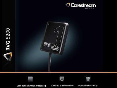 Carestream Kodak Rvg 5200 Digital X-ray Sensor For Dental X-ray Size 1.