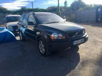 VOLVO XC90 D5 AWD 2.4D 2004 AUTO spare or repair