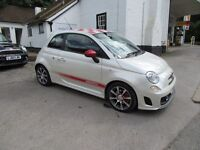 FIAT 500 ARBARTH RARE FUNK WHITE !!!!!!!!!!!! 3 ARBARTH SERVICES ONLY BEST 500 AROUND