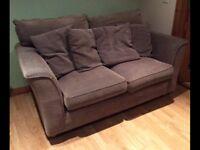 Aubergine 2seater sofa