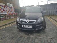 Vauxhall Zafira 1.9 diesel cdti 150 bhp