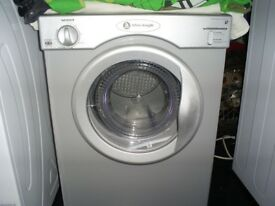 dryer small whiteknight silver