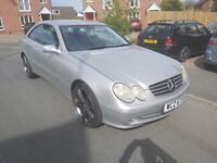Low miles Mercedes-Benz, CLK, 2003, Semi-Auto, 2597 (cc)