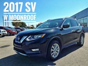 2017 Nissan Rogue SV Moonroof AWD  FREE Delivery
