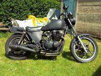 Suzuki GS650 rat bike, chop,bobber,