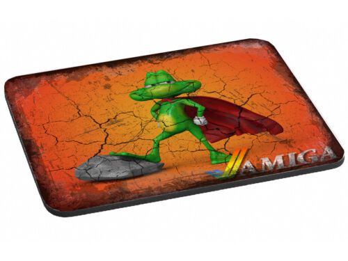 Stunning+SUPERFROG+AMIGA+Mouse+Mat+%28024%29+Super+Frog