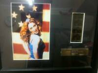 Madonna limited edition film cell picture