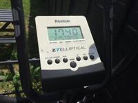 Reebok Z7 elliptical cross trainer and wobble machine