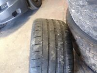 BMW 19 inc m5 genuine wheels and tyres