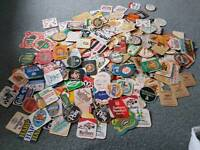Collection of beer mats