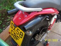 AJS 125 TWIN FOR SPARES OR REPAIR NEEDS ENGINE WORK