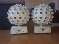 2 x kam stratosphere lights with protective bags