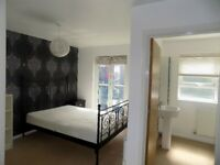 Large ensuite room with balcony available to rent in Salford