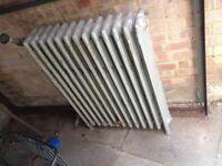 Vintage cast iron radiator £60