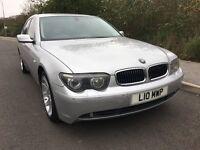 BMW 745Li 4.4 V8 Auto 329bhp - FSH, MOT, Xenon h/lights, Sat Nav, TV, 6 CD changer, etc...