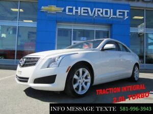 2014 CADILLAC ATS SEDAN AWD TURBO AWD