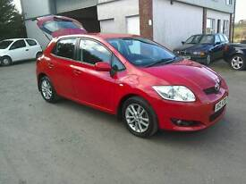 09 Toyota Auris 1.6 TR 5 door One owner Full 12 MTS Mot May 18(Can be viewed inside anytime)