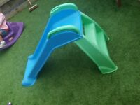 Little tikes slide ideal for toddler