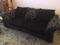 DFS pair of sofas in super condition great design and colour very comfortable not long been cleaned