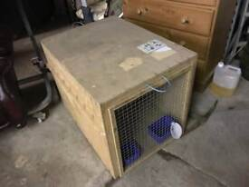 3 ft by 2 ft dog box