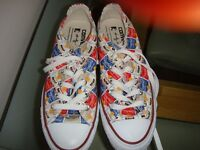 Low Converse limited edition 'Andy Warhol Campbells Soup' - unworn