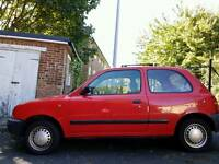 1995 Nissan Micra 1.0L CVT/auto low mileage! RED