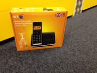 BT Home Phone with answering machine Xenon 1500