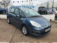 CITROEN C4 PICASSO 1.6 GRAND VTR PLUS HDI EGS 5d AUTO 110 BHP A GREAT (blue) 2010